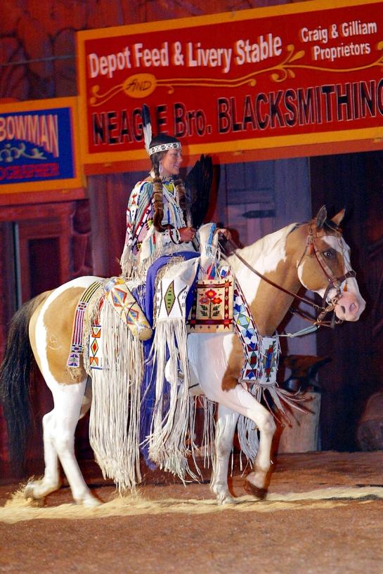 American Indian Princess, Pendleton Round-Up