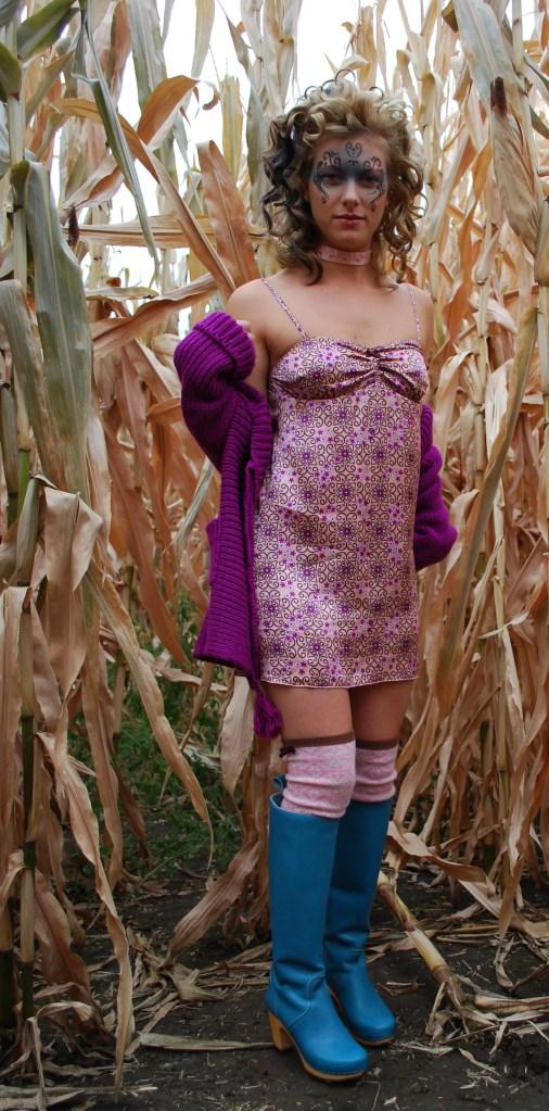 Odd Molly 162 Silk Camisole in Apricot
