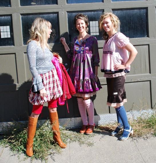 Beautiful Girls...Brooklyn, Bronwen & Emily, Hair Stylist Amy Vories
