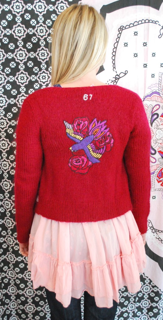 Odd Molly 67 Pet Sweater in Red