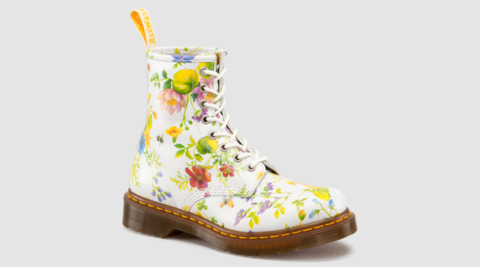 Dc Marten Posy Boot ~ Limited